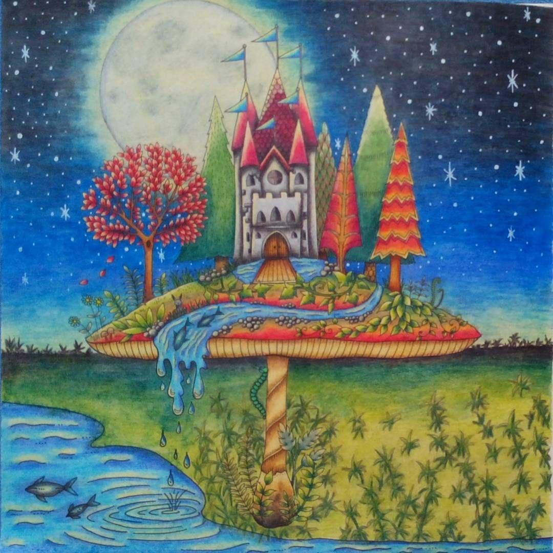 #enchantedforest #enchantedforestcoloringbook #johannabasford #johannabasfordenchantedforest #coloringbook #coloringforadult #adultcoloring #adultcoloringbook #mondeluz72
