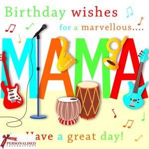Happy Birthday Mama Cake Google Search Indian Wedding Cards
