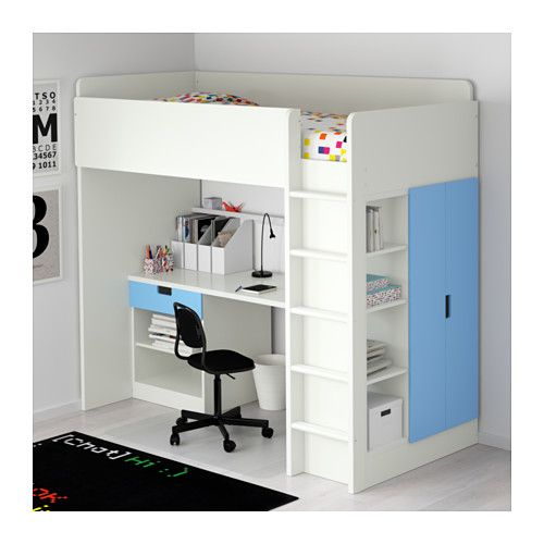 Us Furniture And Home Furnishings Bunk Bed With Desk Interior Design Bedroom Loft Beds For Teens