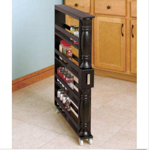 Slim Spice & Can Storage Rack | Kitchen | Pinterest
