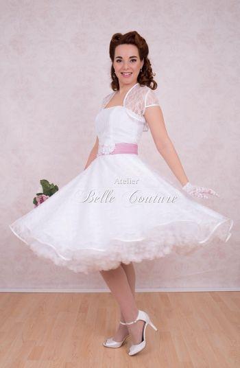 50er Jahre Petticoat Brautkleid