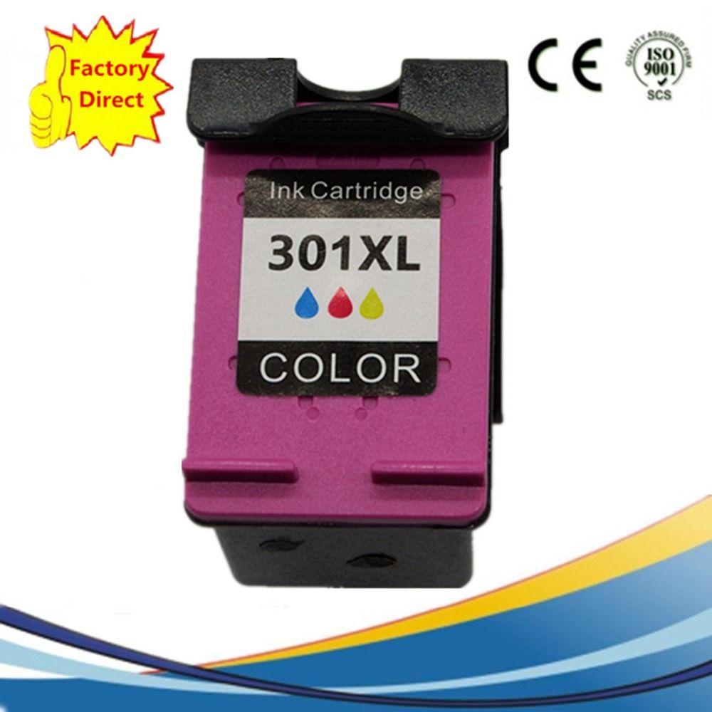 1 Pk 301 Xl 301xl Color Ink Cartridges For Hp Hp301 Hp301xl Envy