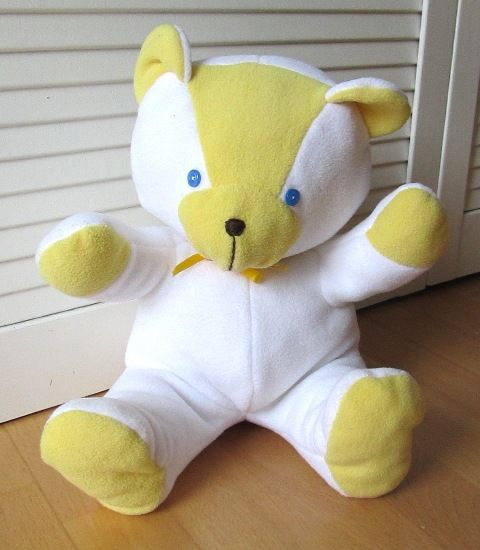 Free sew tutorial for teddy bear - click link on middle of page to ...
