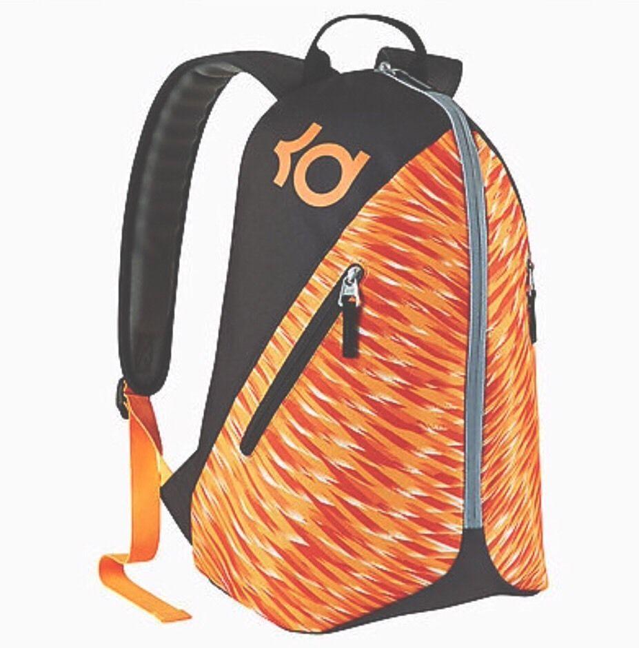 KD Max Air VIII Backpack Kids (youth) Basketball Backpack BA5093 Orange   Nike… d3971b93ba