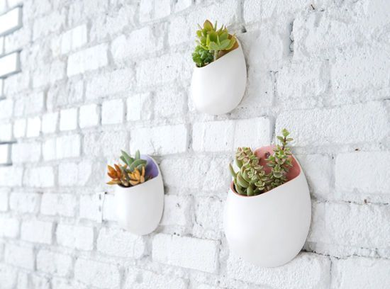 MAKE IT/ WALL PLANTERS | D E S I G N L O V E F E S T | Bloglovin'