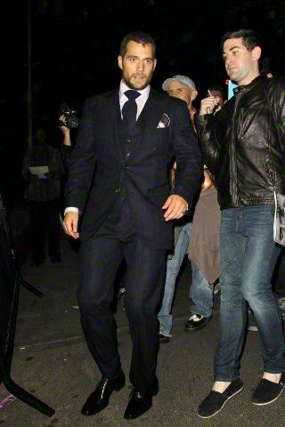 Henry Cavill News: There He Is! Henry Attends W Magazine Party In Hollywood