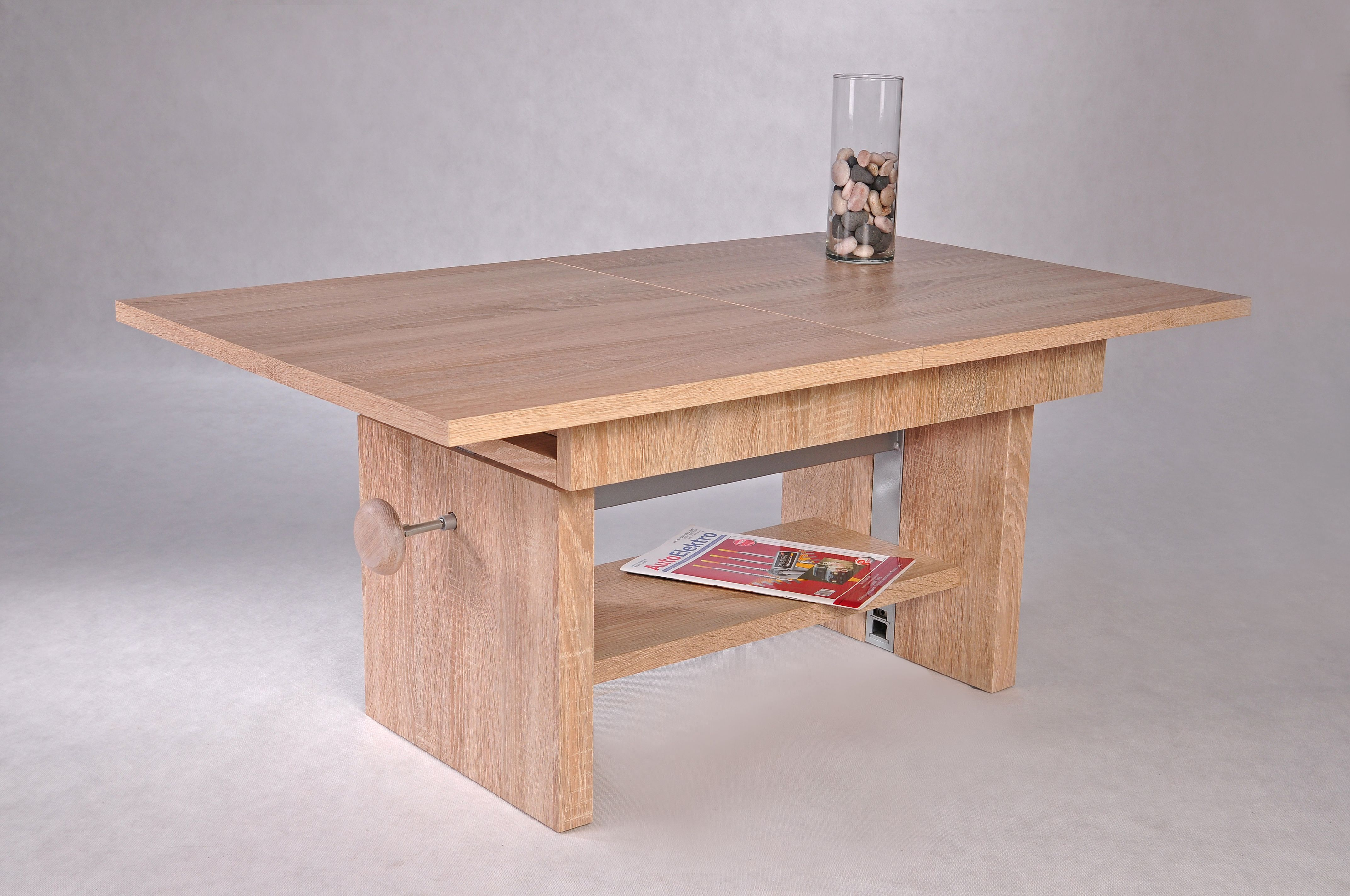 Bezaubernd Couchtisch Holz Höhenverstellbar Das Beste Von 110 X 65 Cm Sonoma Eiche Ausziehbar