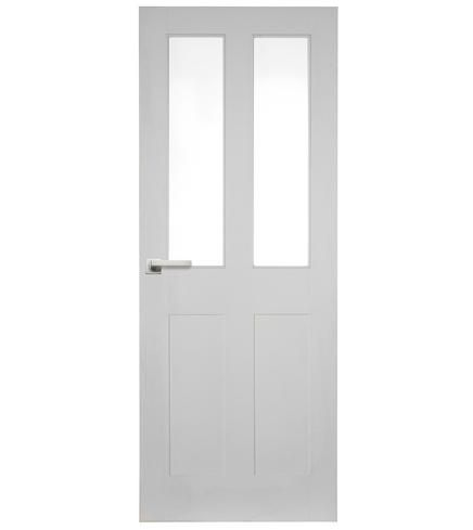 This Burford 4 Panel 2 light glazed door is simple and design and complements a variety or of interiors.  sc 1 st  Pinterest & Burford 4 Panel 2 Light Glazed | Doors | Pinterest | Doors Lights ...