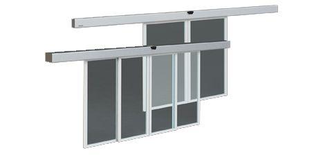 Puertas autom ticas de cristal para tiendas o locales for Modernizar puertas interior