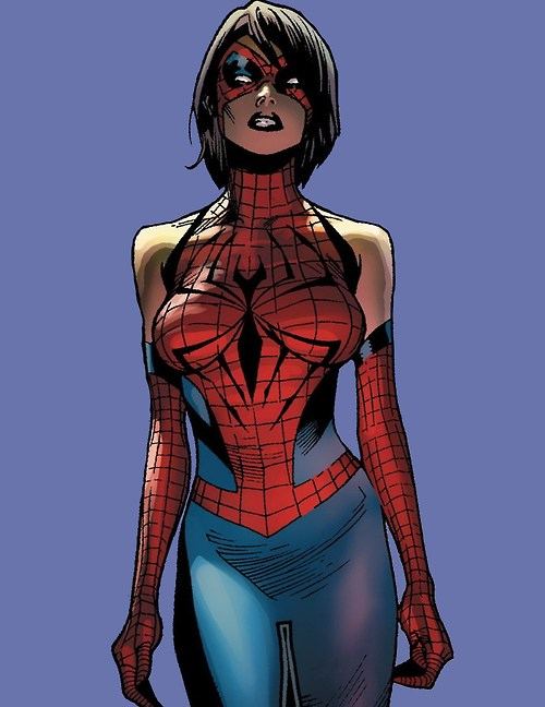 Cosplay Ideas For Female Characters With Short Black Hair Spider Girl Marvel Girls Marvel Comics Art