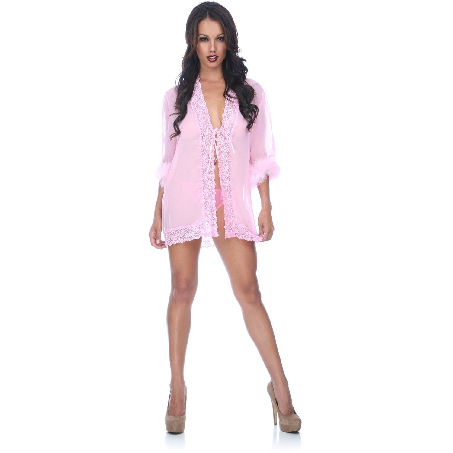 Popsi Lingerie and Lace Robe   Products   Pinterest