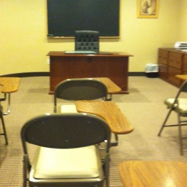 it's hard to be back in a class room after almost fifteen years.