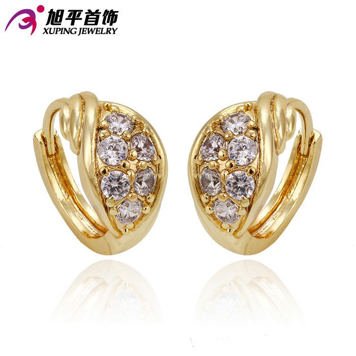 Xuping Fashion Earring Promotion New Style Jewelry Gold Color ...