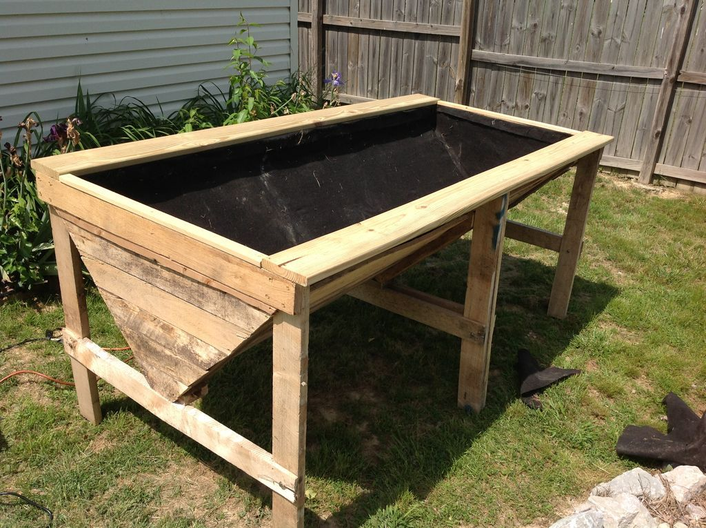 Raised Planter Bed From Pallets Raised Planter Beds 400 x 300