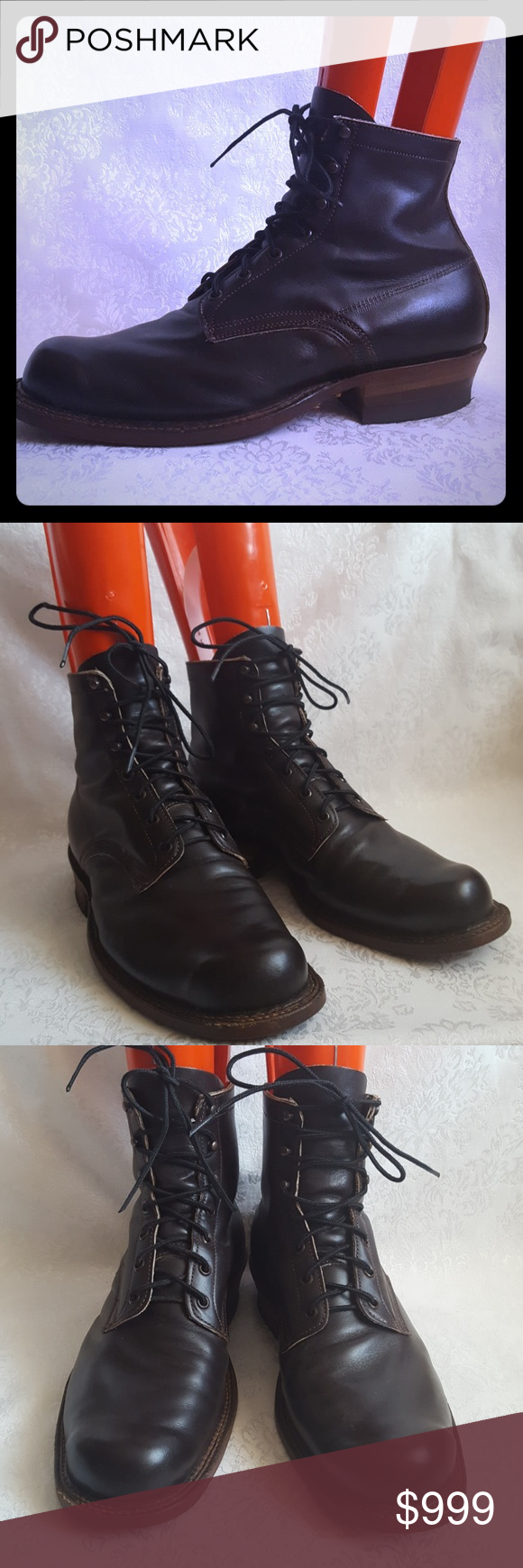 White S Brown Leather Semi Dress Rancher Boot Boots Brown Leather Dress With Boots [ 1740 x 580 Pixel ]