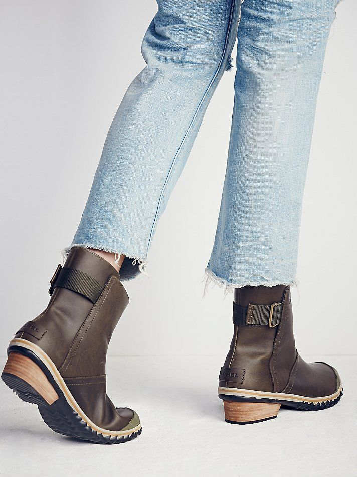 online retailer 83057 b4051 Sorel Slimboot Pull-On Weather Boots at Free People Clothing Boutique