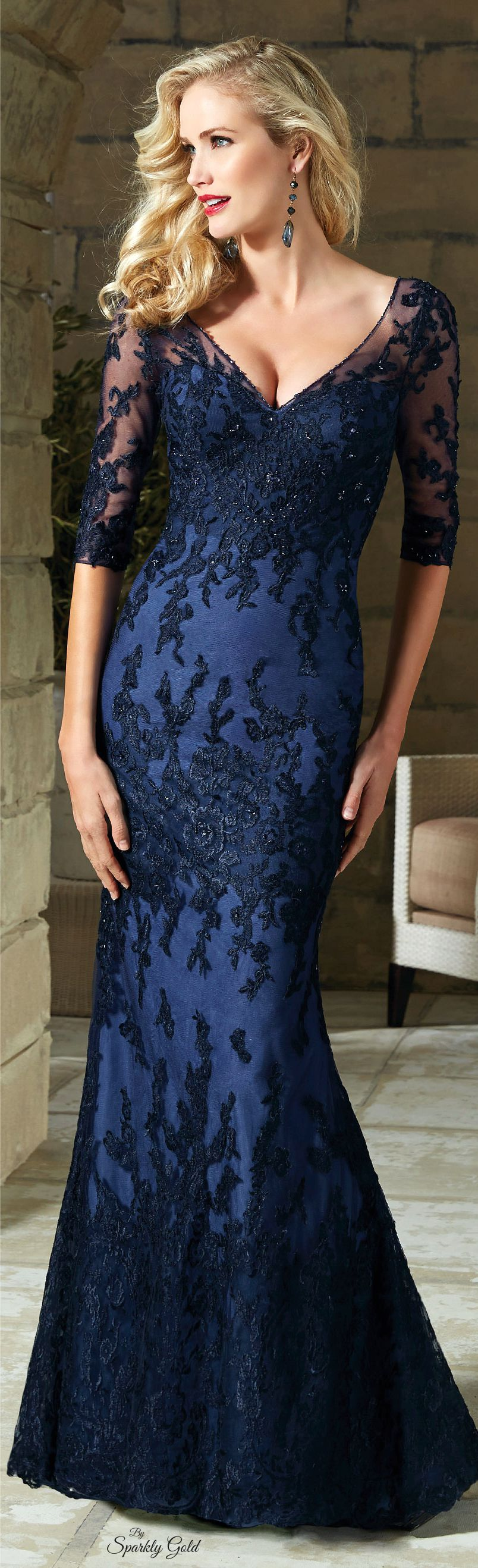 Pin by terri wells on dresses pinterest gowns dark navy blue