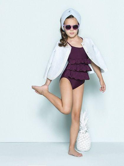 bca93afde NANOS SHOP ONLINE. Swimwear   Looks Vestidos De Baño Niñas
