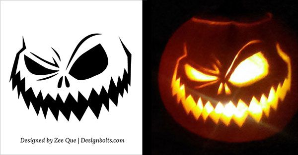 Spooky-Free-Pumpkin-Carving-Stencil-2015 | Halloween | Pinterest ...