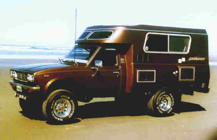 The Chinook Guru Timeline 1 The Brownie Chinook S Toyota
