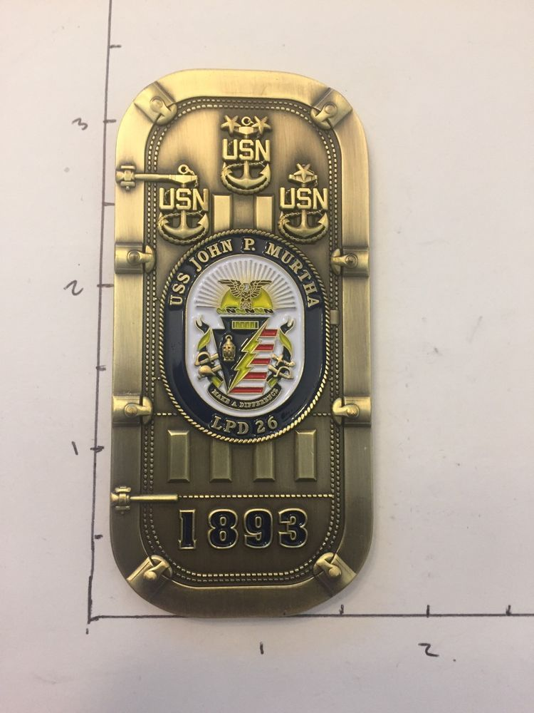 Navy Chief Cpo Challenge Coin In 2019 Military