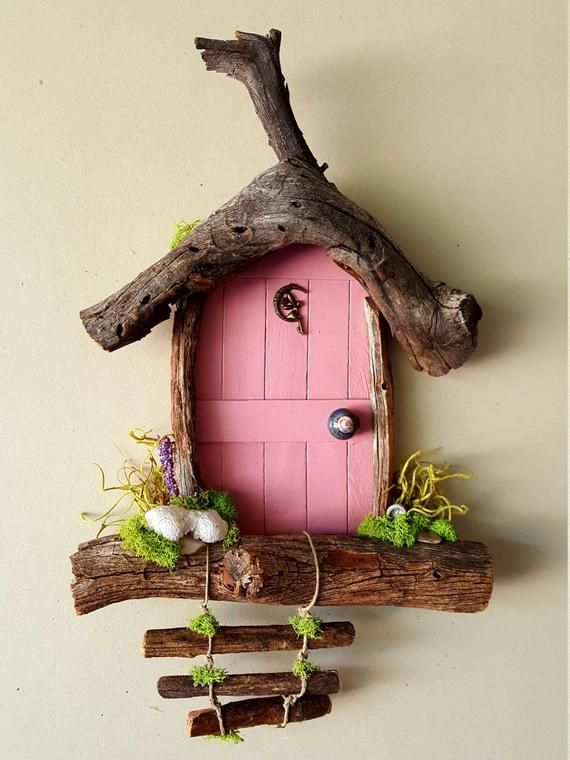 Items similar to Fairy Door, Tooth Fairy Door Custom Made by Sedona Fairy Doors on Etsy