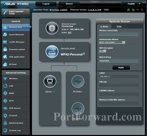 Port Forwarding The Asus Rt N66u Router For Synology Ds213 Asus Router Wireless Router