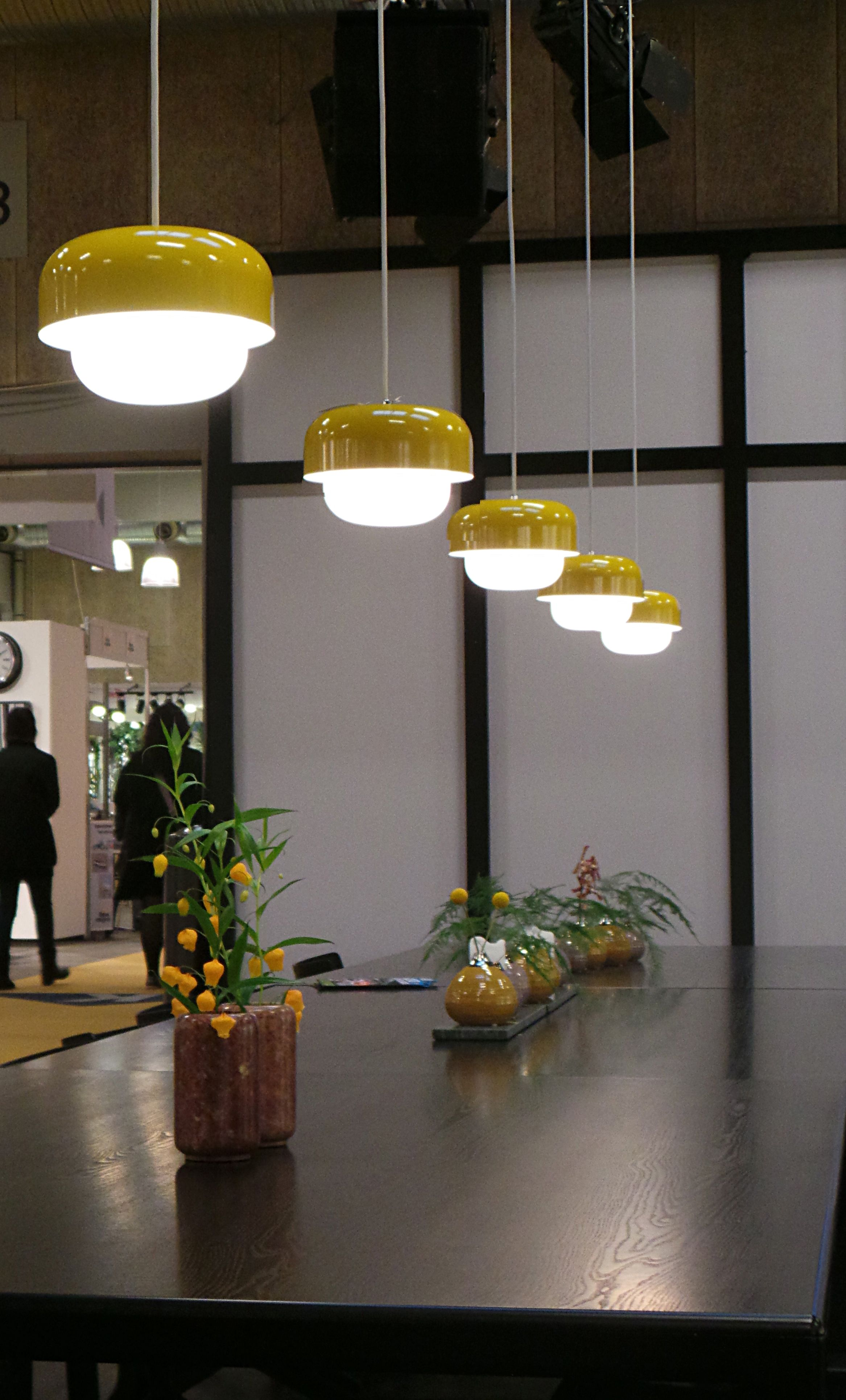 haipot pendant light by dyberg larsen yellow lime lace www
