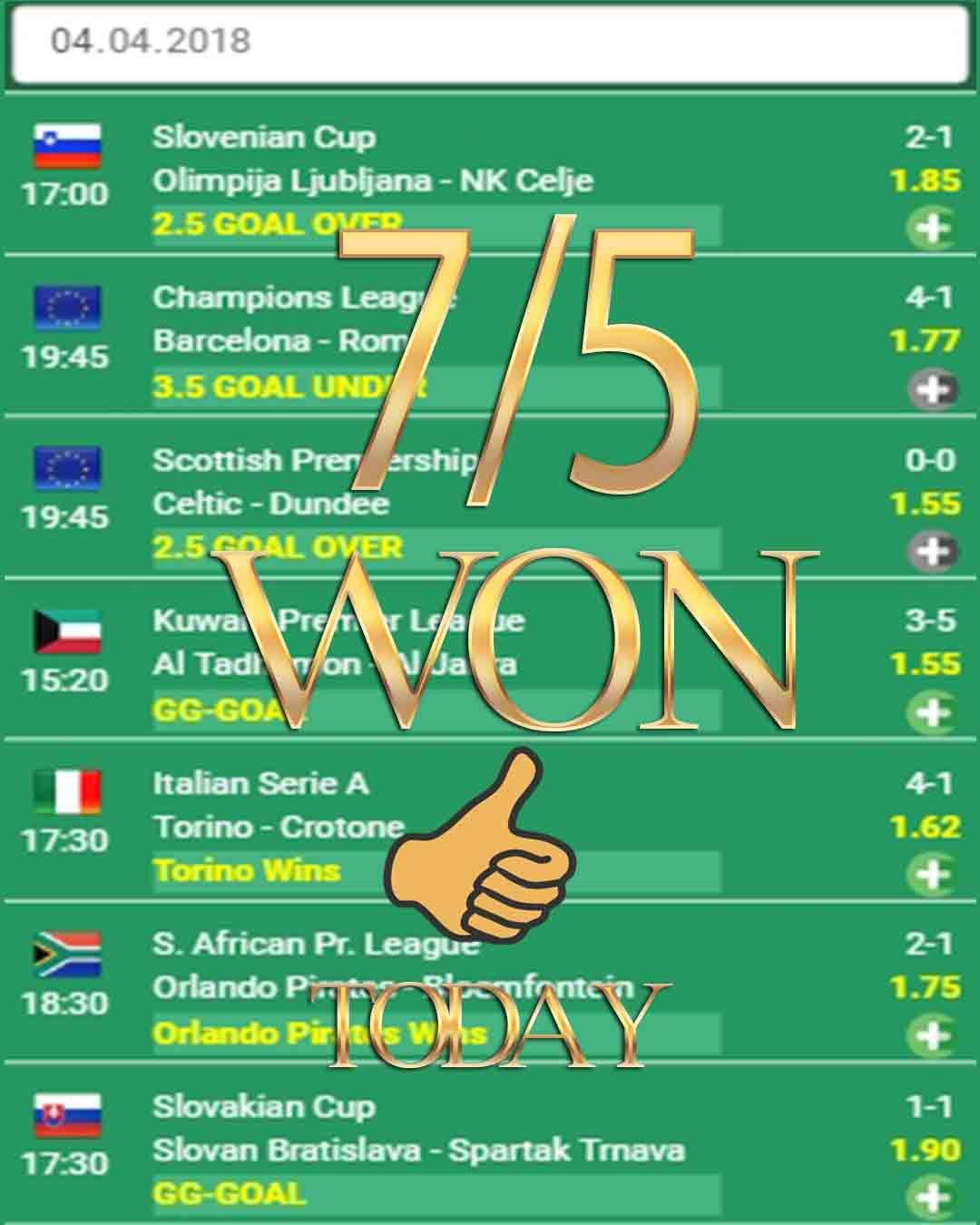 Vip Betting Tips 7 5 Won Sport Betting Sports Betting Sports