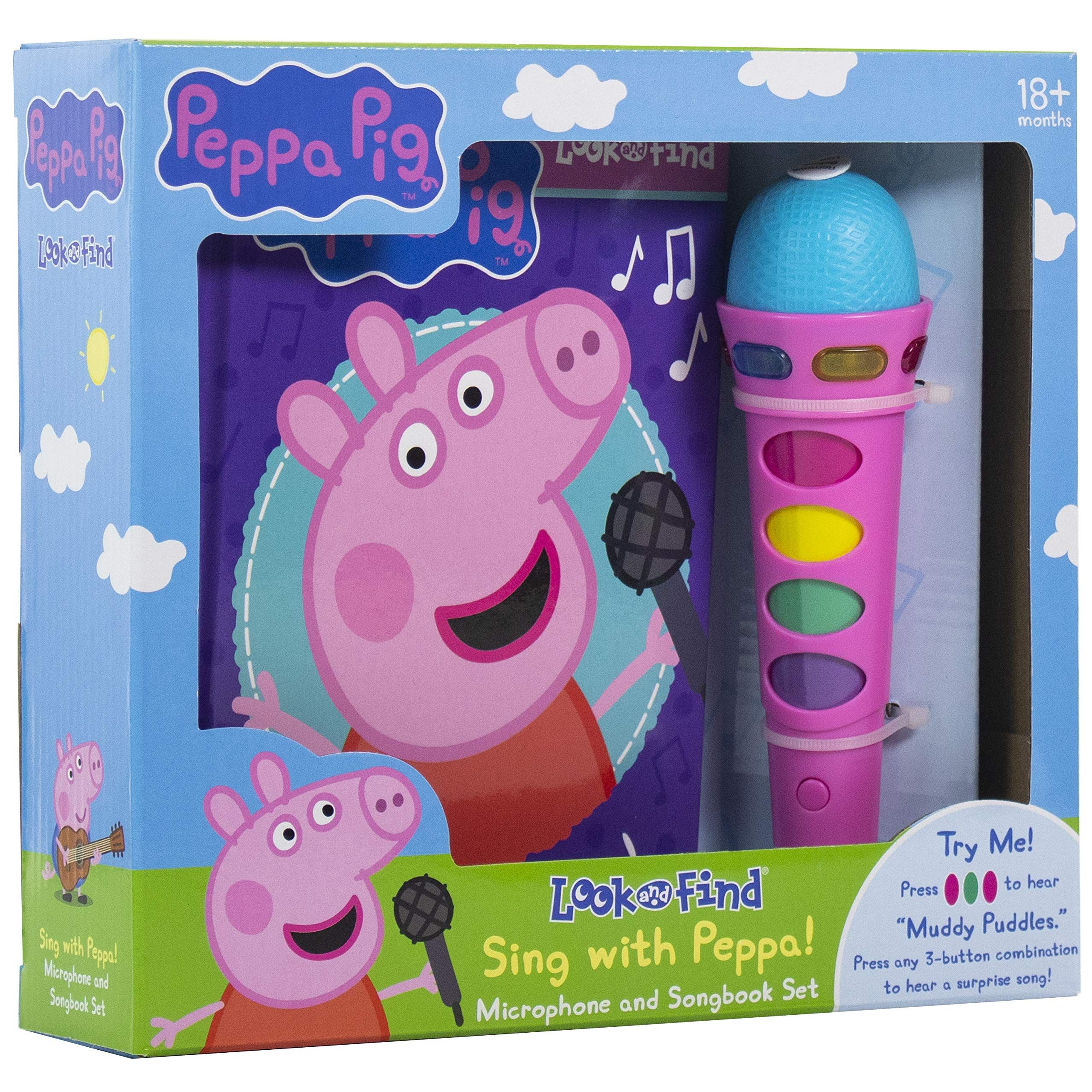 Peppa Pig Sing With Peppa Microphone And Look And Find Sound