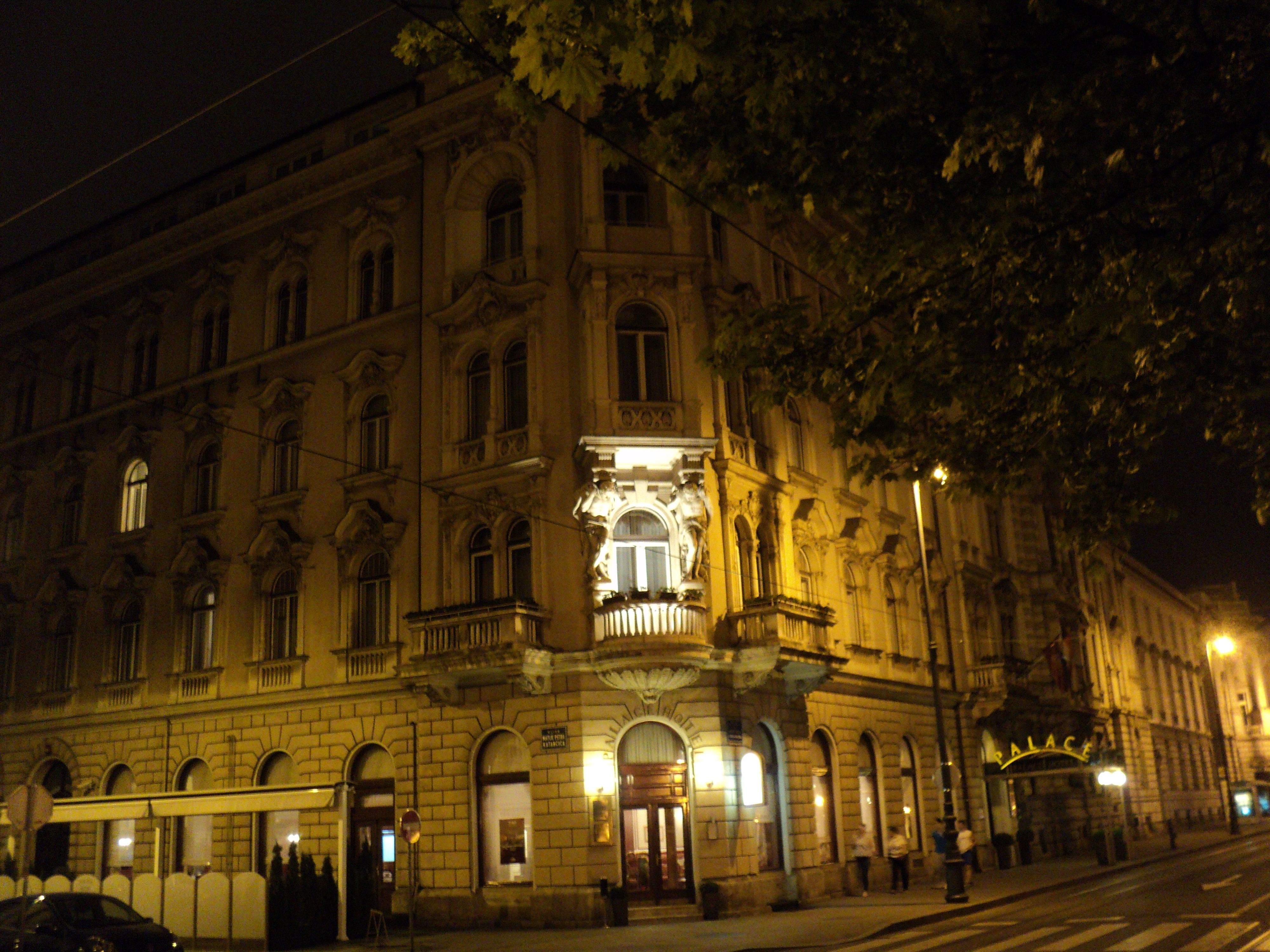 Hotel Palace Zagreb City Buildings Architecture Building Zagreb