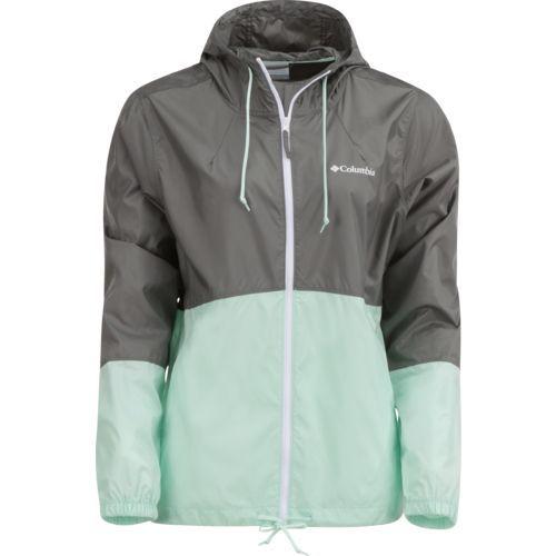 The Columbia Sportswear™ Women's Flash Forward™ Windbreaker Jacket is made  of 100% polyester