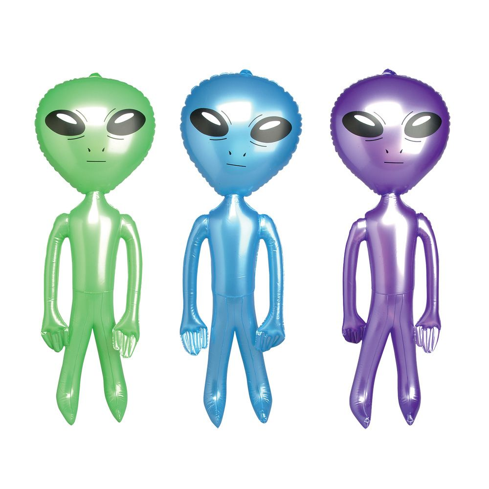 """24"""" inflatable alien with big eye detail, ideal inflatable toy for a ..."""