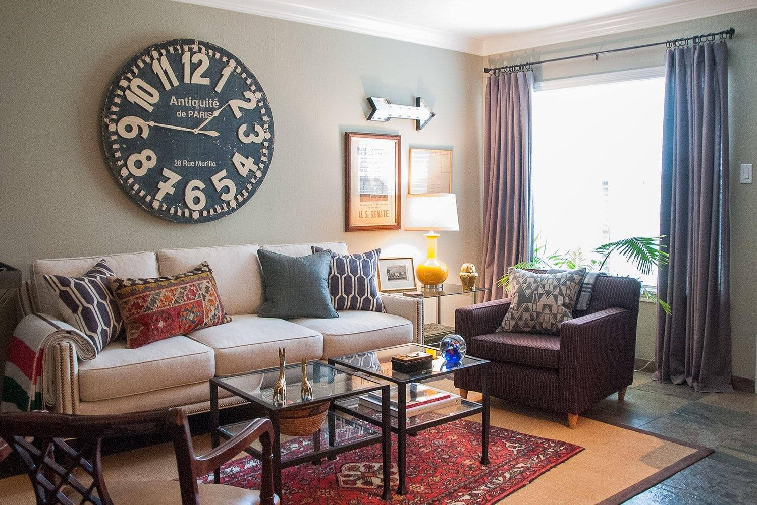 A small refined traditional eclectic houston rental