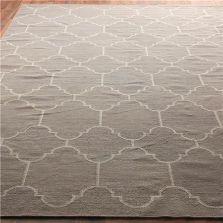Guest Room Office Moroccan Tile Dhurrie Rug 4 Colors