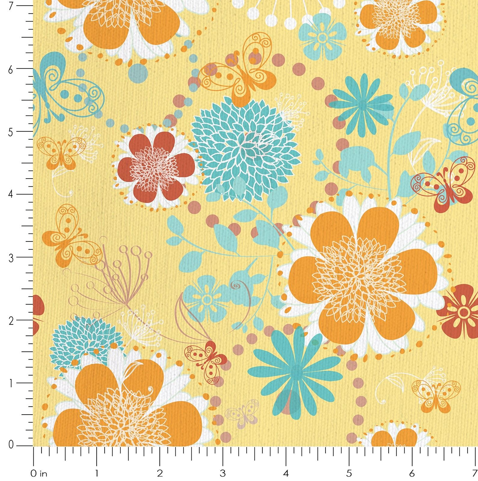 Buy Butterflies 100 Cotton Fabric For Sofa Curtains Cushions More Online India Online Butterflies Cushion Fabric Painted Table Tops Printing On Fabric