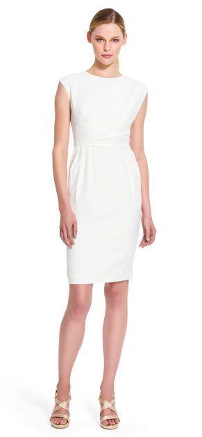 Pleated Sheath Dress - Adrianna Papell