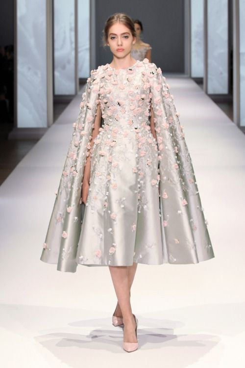 Destination Style - The Awakening of Flora with Ralph & RussoPhoto Credits: Ralph & Russo  http://theantibridezilla.com/post/122126996777/destination-style-the-awakening-of-flora-with