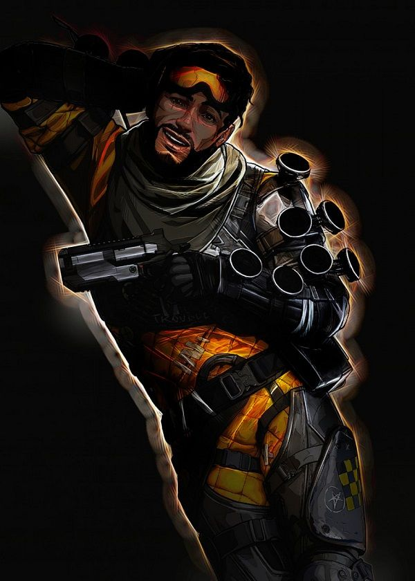 """Apex Legends Outer Glow Characters Mirage #Displate explore Pinterest""""> #Displate artwork by artist """"Negros… 