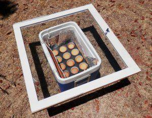 Solar Oven Cupcakes Solar Cooking Solar Oven Solar Energy Diy
