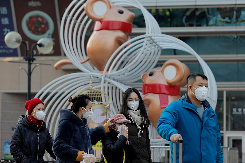 Millions usher in the Chinese New Year of the Rat except