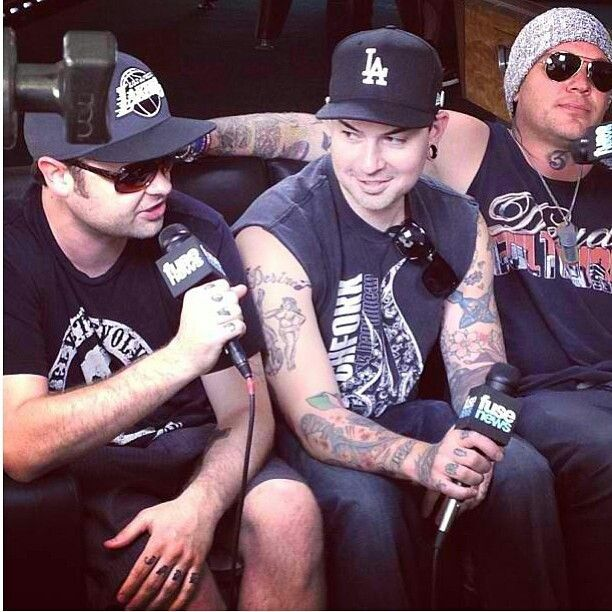 Charlie Scene, J-Dog, and J3T