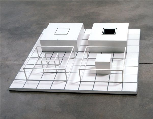 Sol Lewitt Serial Project Abcd 5 1968 Steel Lacquer