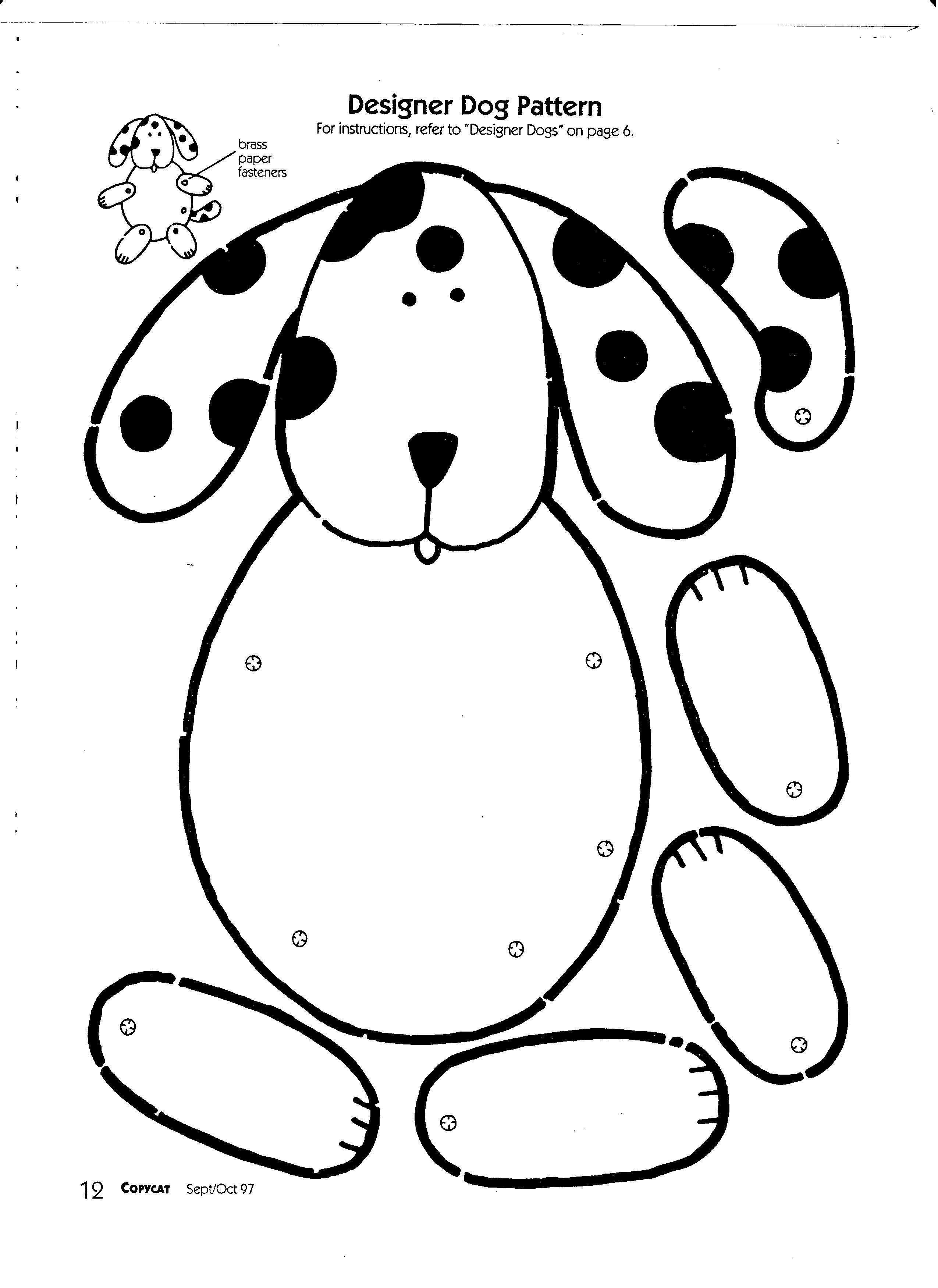 Pet Dog Design Worksheet