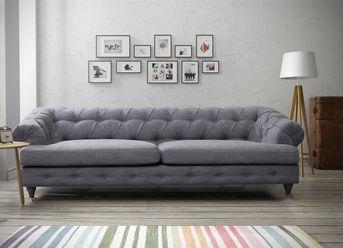 Lotta 3 Seater Chesterfield Sofa | Mobilya | Chesterfield ...