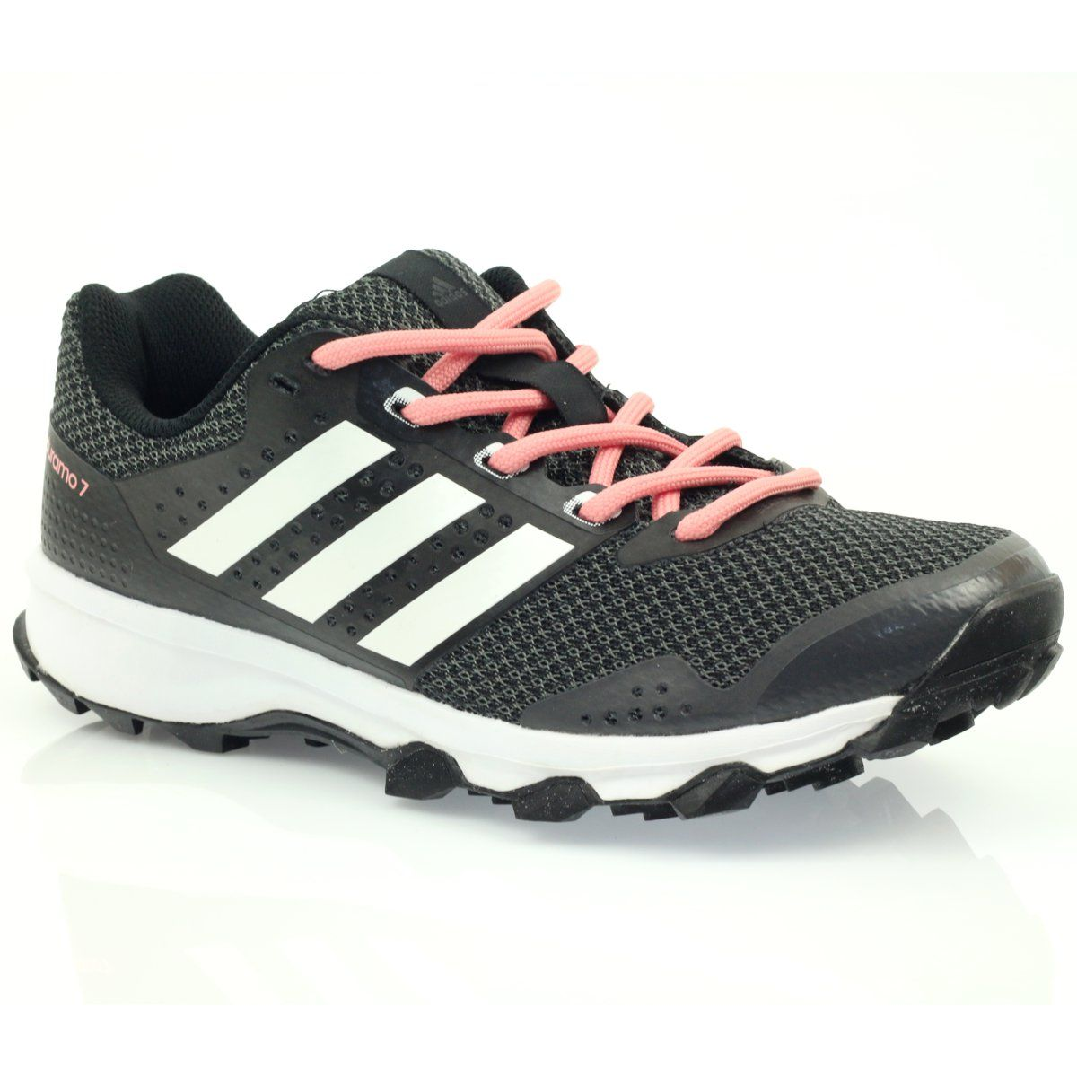 Buty Biegowe Adidas Duramo 7 Trail W Czarne Rozowe Szare Adidas Sneakers Adidas Shoes
