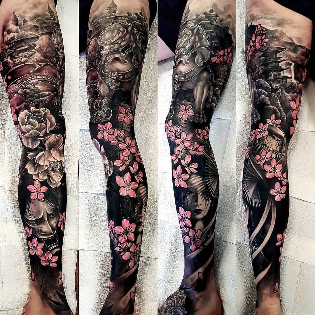 Japanese Tattoos Designs And Ideas Page 5 Japanese Sleeve Tattoos Full Sleeve Tattoo Design Japanese Sleeve