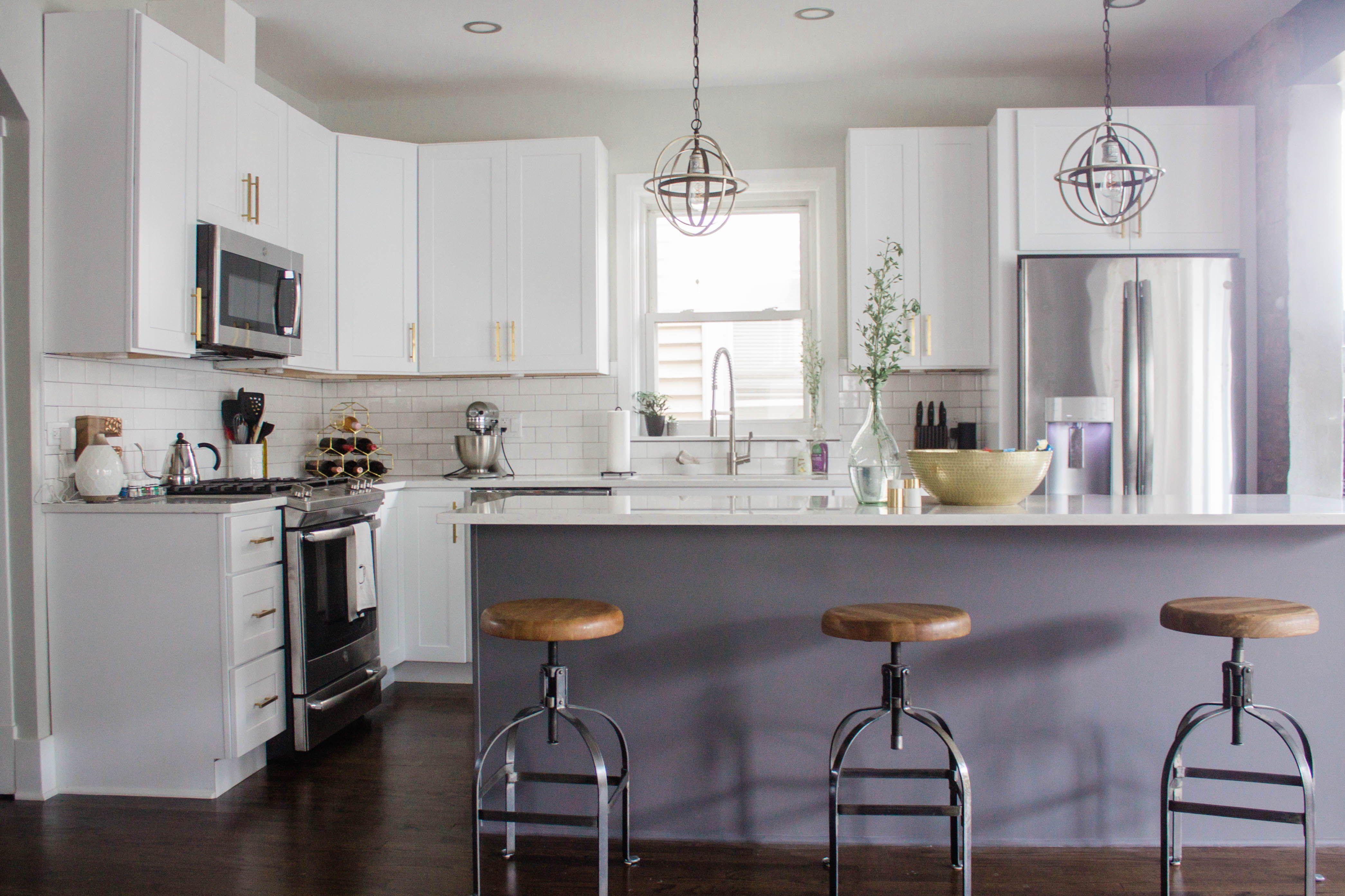 White Kitchen, Kitchen Remodel, Home Renovation