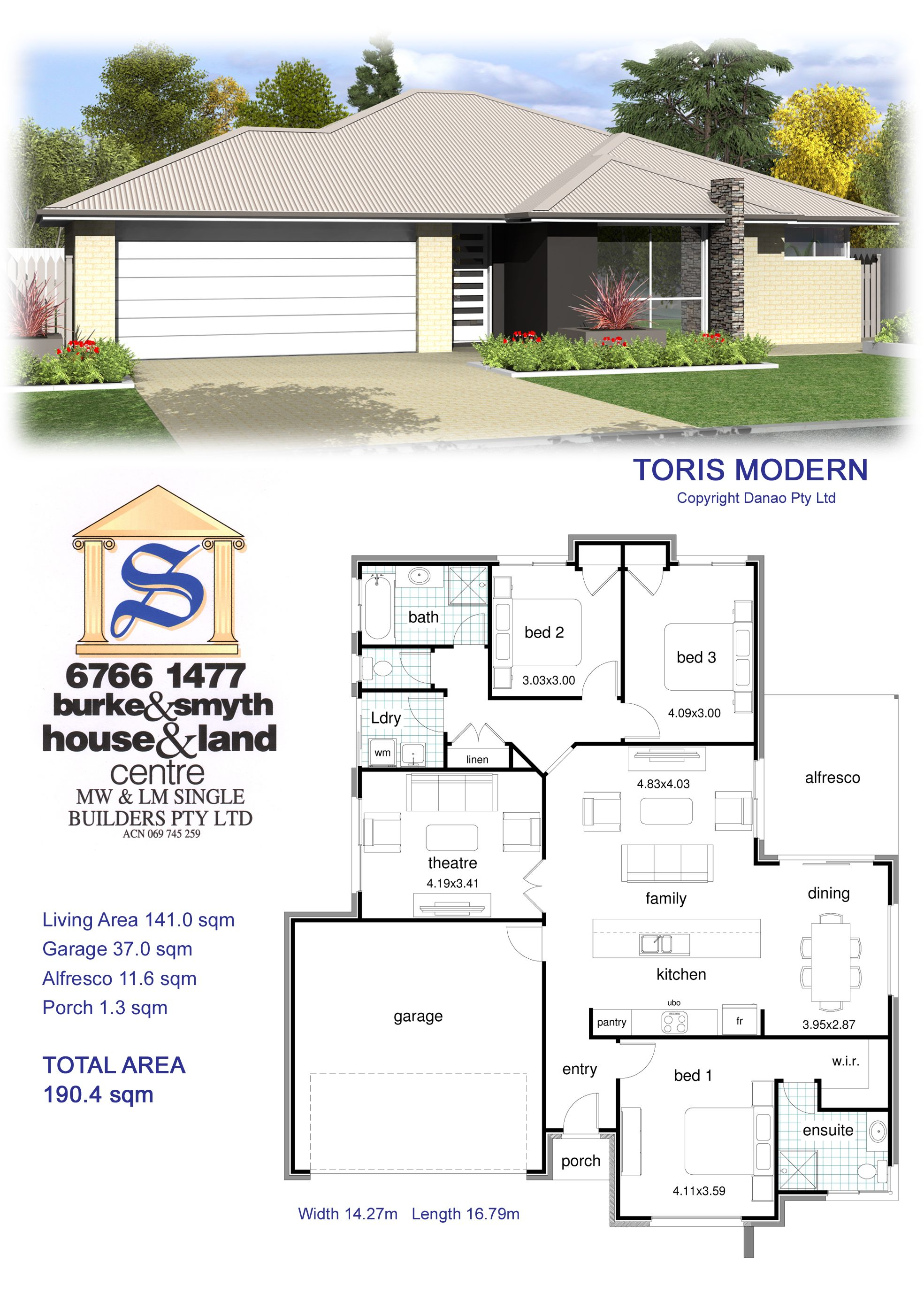 Single Builders I Toris Modern House Plan House Plan Gallery Free House Plans Affordable House Plans