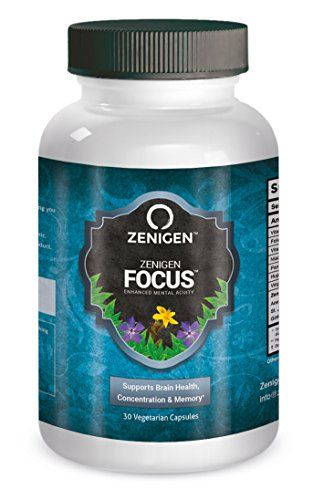 1 Natural Nootropic Supplement Smart Drug Brain Health Cognitive